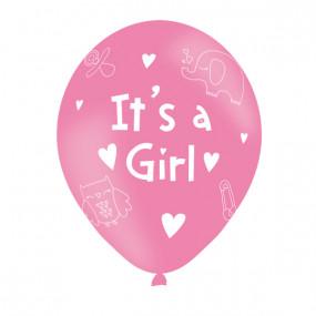 6 Balões It's a Girl