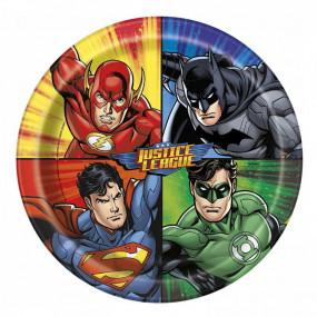 Pratos Justice League