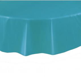 Toalha Azul Caribe Redonda