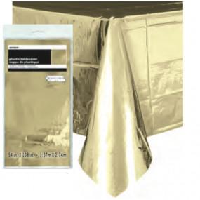 Toalha Dourado Metálico