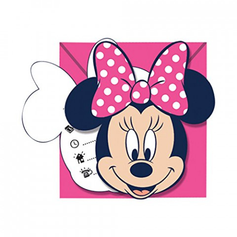 Convites Minnie Mouse