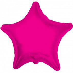 Balão Estrela Rosa 50cm