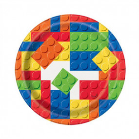 Pratos Lego Redondos