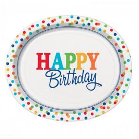 Travessas Happy Birthday Conj.8