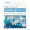 Confetis Baby Shower Azul