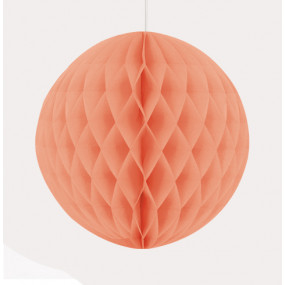 Bola de Papel Coral 20cm