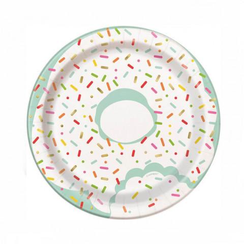 Pratos Donut 18cm