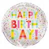 Balão Happy Birthday! 45cm