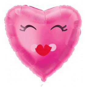 Balão Coração Smiling