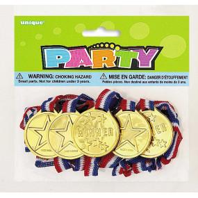 5 Medalhas Decorativos