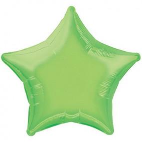 Balão Estrela Verde Alface 50cm