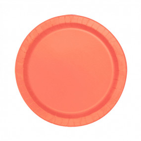 Pratos Coral Conj. 20