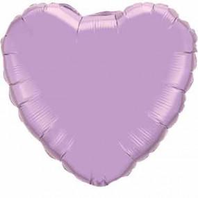 Balão Coração Lilás 46cm
