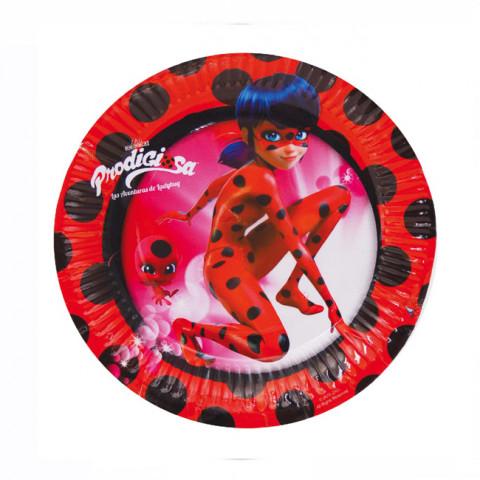 Pratos Ladybug