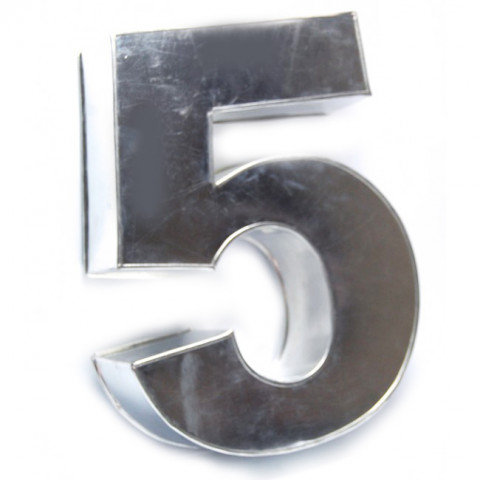 Forma Número 5 Grande