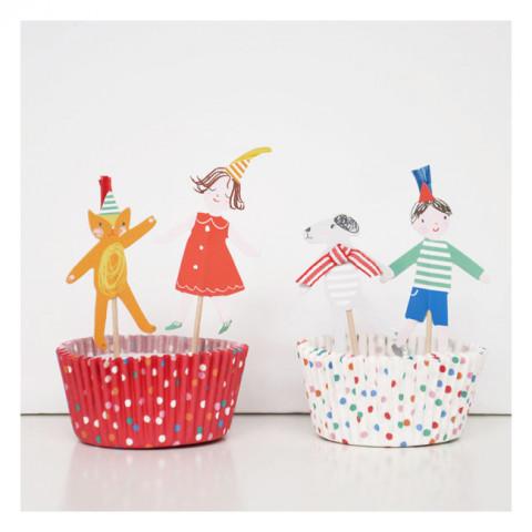 Kit cupcakes Meninos