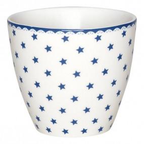 Greengate Latte Cup Estrelas Azuis