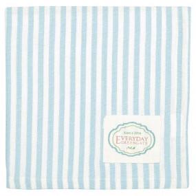 Greengate Guardanapo Stripe Pale Blue 40cm