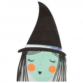 Guardanapos Halloween Bruxa
