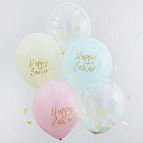 Balões happy Easter