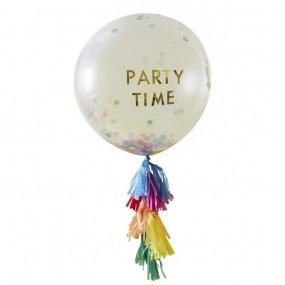 Balão Confetis e Tassel