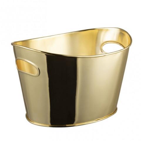 Champanheira Dourada Metal