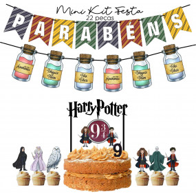 Kit Festa Harry Potter