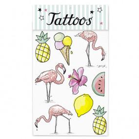 Tatuagens Flamingos