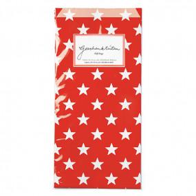 Sacos Vermelho Estrelas