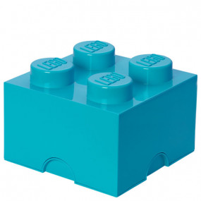 Caixa Lego Turquesa M