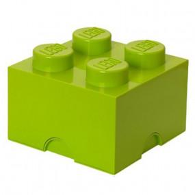 Caixa Lego Verde Alface M