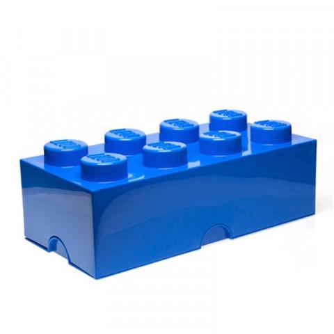 Caixa Lego Azul Grande