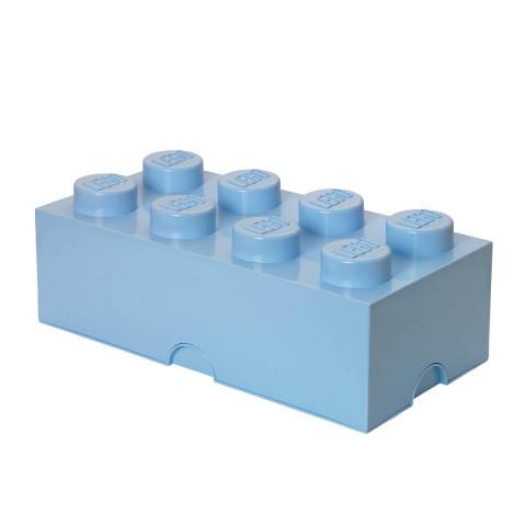 Caixa Lego Azul Claro Grande