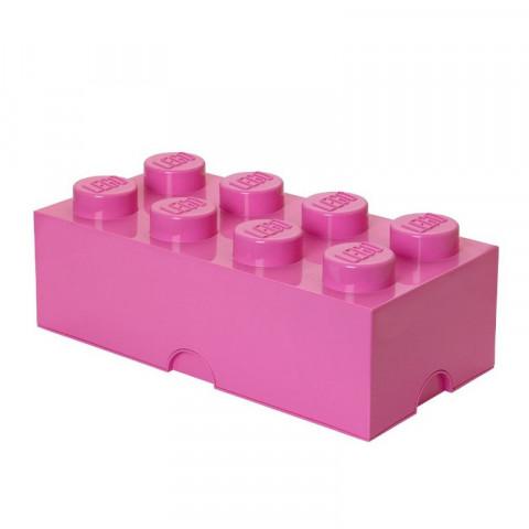 Caixa Lego Rosa Grande
