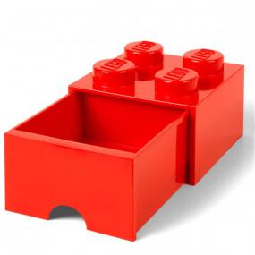 Caixa Lego Gaveta Vermelha M