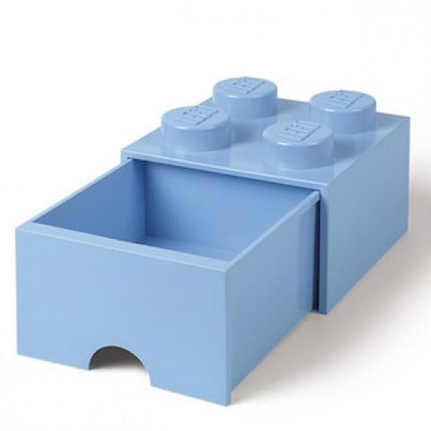 Caixa Lego Gaveta Azul M
