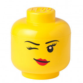 Cabeça Lego Menina Whinky Grande