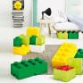 Caixa Lego Amarela Forte Grande