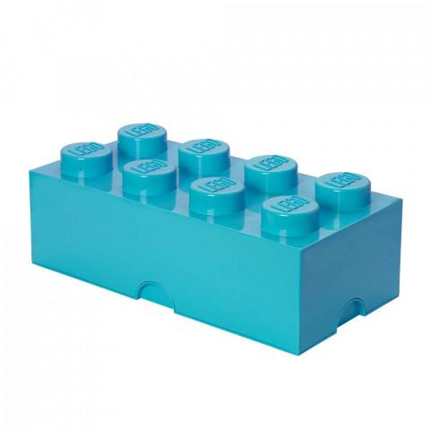 Caixa Lego Turquesa Grande