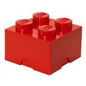 Caixa Lego Vermelho M