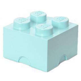 Caixa Lego Verde Agua M
