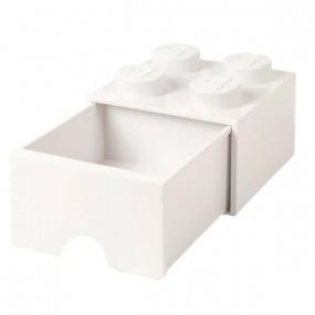 Caixa Lego Gaveta Branca M
