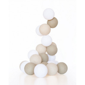 Grinalda Cotton Balls Creme 10 Bolas