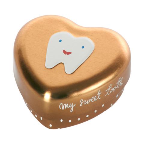 Caixa Dentes Dourada Maileg