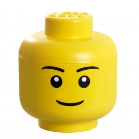 Cabeça Lego Menino Grande
