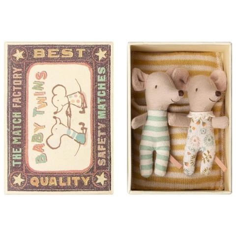 Ratinhos Gémeos na Caixa Maileg