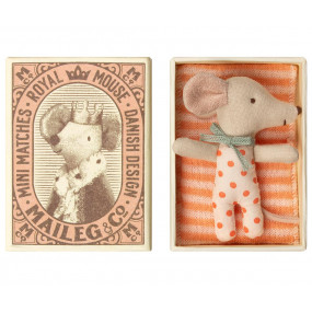 Ratinha Bebé  na Caixa Maileg