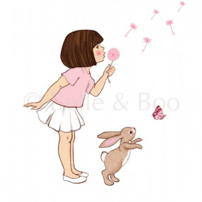 Wall Sticker Belle & Boo