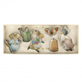 Conj. Cortadores Peter Rabbit