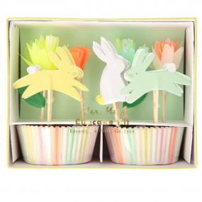 Kit Cupcakes Coelhos